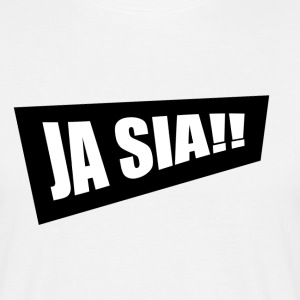 JA SIA - T-skjorte for menn