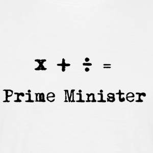 Stem på Ed for premierminister! - Herre-T-shirt