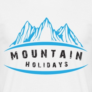Mountain Holidays - Men's T-Shirt