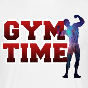 Gym Time - Männer T-Shirt
