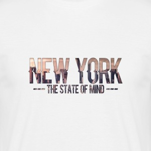 New York - The state of mind - T-skjorte for menn