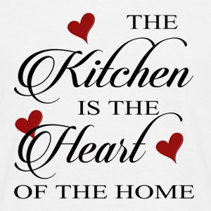 The Kitchen is the Heart of the home - Men's T-Shirt