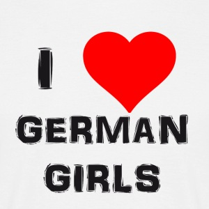 german girls - Männer T-Shirt