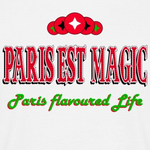 PARIS LIFE FLAVOURED - Men's T-Shirt