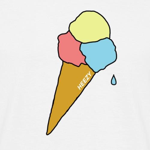 icecream - Mannen T-shirt