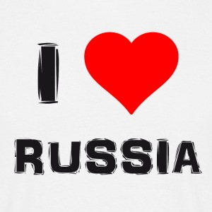 Russian Love - Men's T-Shirt