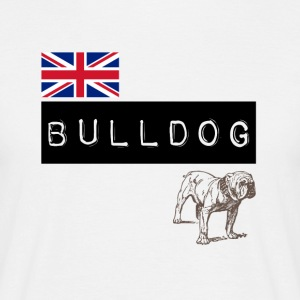 British Bulldog - T-skjorte for menn