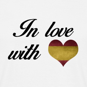 In love with Spain - Männer T-Shirt