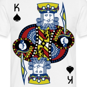 King of Spades Hold'em Poker - Koszulka męska