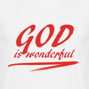 God_is_wonderful - Koszulka męska