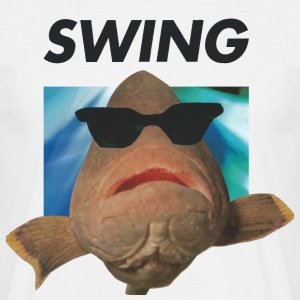 SWING vis - Mannen T-shirt