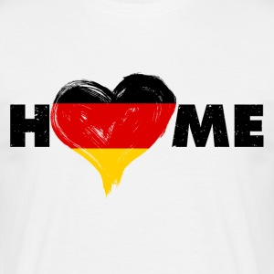 Home love Germany - Men's T-Shirt