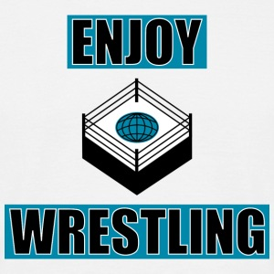 ENJOY_WRESTLING_BASIC_DesASD - Camiseta hombre