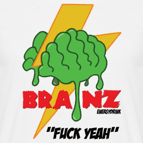 Brainz - Herre-T-shirt