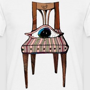 Oliver's chair - Mannen T-shirt