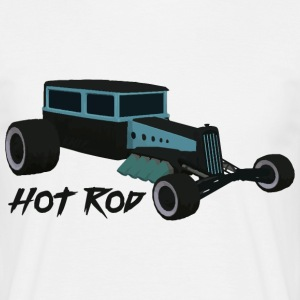 Hot Rod elsker v1 - Herre-T-shirt