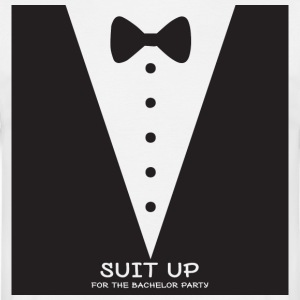 JGA / bachelor party: Suit Up for the - Men's T-Shirt
