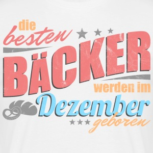 Baker's birthday December - Men's T-Shirt