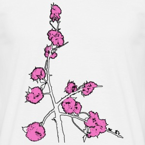 Pink Blossom Branch - Men's T-Shirt