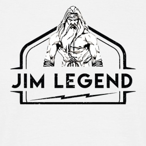 Jim Legend - T-skjorte for menn
