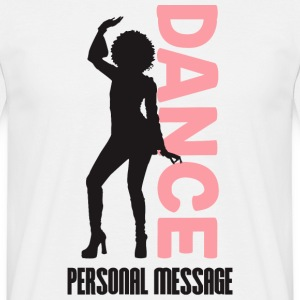 PERSONAL MASSAGE BEAUTIFUL DANCER - Men's T-Shirt