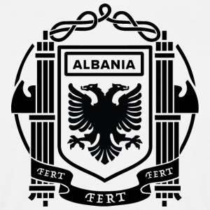 Flag of the Kingdom of Albania 39-43 - Men's T-Shirt