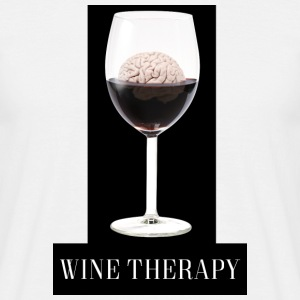 Wine Therapy - Men's T-Shirt