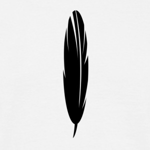 Black Feather - Herre-T-shirt