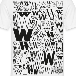 W - like: handsome Demented T-shirt carrier - Men's T-Shirt