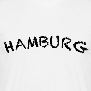 Hamburg - T-skjorte for menn