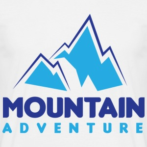 Mountain Adventure - Mannen T-shirt