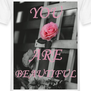 You Are Beautiful - Mannen T-shirt
