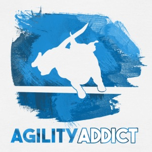 Agility Addict Blue - T-shirt Homme