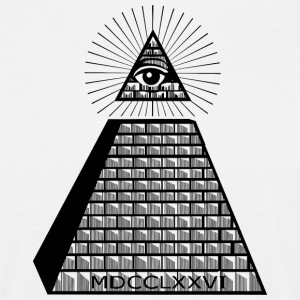 Eye of Providence - T-skjorte for menn