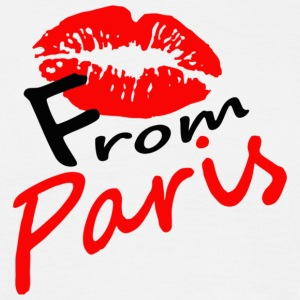 kiss_from_Paris - T-shirt herr