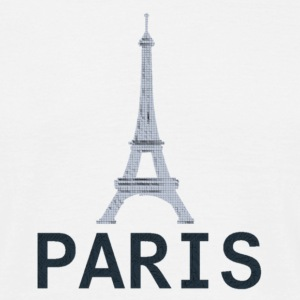 Style 2 Paris Tour Eiffel - Men's T-Shirt