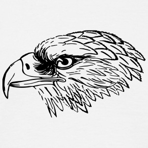 eagle head - Men's T-Shirt