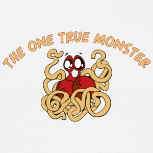 the one true monster cartoon - Men's T-Shirt