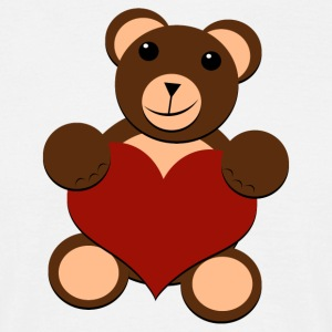 Big Bear Heart - For All - T-skjorte for menn