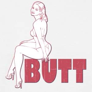 butt - Men's T-Shirt