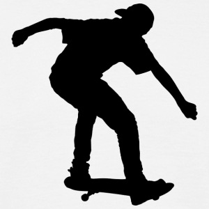Skateboard - Silhoutte - 2 - Men's T-Shirt