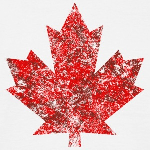Canada Canada Maple Leaf Maple Leaf Grunge America - Men's T-Shirt