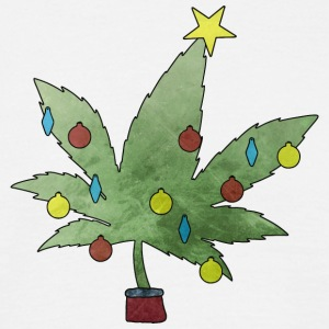 Pot christmas tree - Men's T-Shirt
