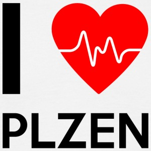 I Love Plzen - I Love Plzen - T-skjorte for menn