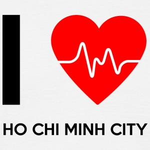 I Love Ho Chi Minh City - I Love - Herre-T-shirt