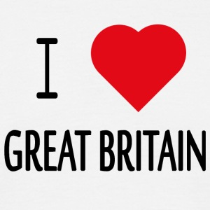 I Love Great Britain - Men's T-Shirt