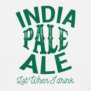 IPA INDIAN PALE - Herre-T-shirt