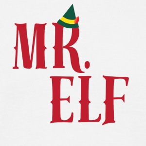 CHRISTMAS -ELF - DADDY - Mannen T-shirt