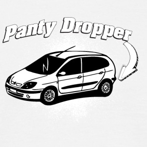 Panty dropper small white car - Men's T-Shirt