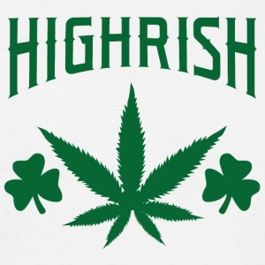 Journée de l'Irlande / Saint-Patrick: Highrish - T-shirt Homme